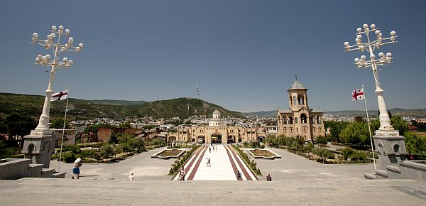 Tbilisi katedra Cminda Sameba